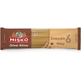 Μακαρόνια MISKO σπαγγέτι Νο.6 ολικής άλεσης (500g)