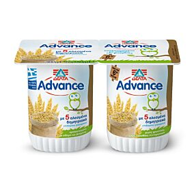 Γιαούρτι επιδόρπιο ADVANCE βρεφικό με 5 αλεσμένα δημητριακά (2x150g)
