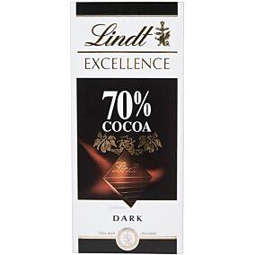 Σοκολάτα LINDT Excellence Dark υγείας 70% κακάο (100g)