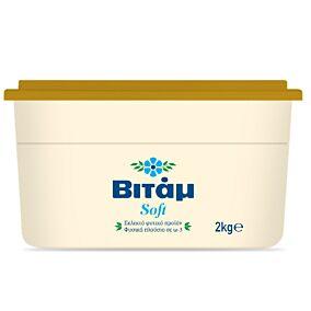 Μαργαρίνη ΒΙΤΑΜ 3/4 soft 60% λιπαρά (6x2kg)