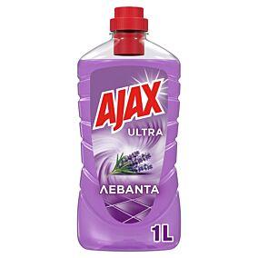 Καθαριστικό AJAX Ultra για το πάτωμα με άρωμα λεβάντα, υγρό (1lt)