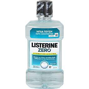 Στοματικό διάλυμα LISTERINE zero (250ml)