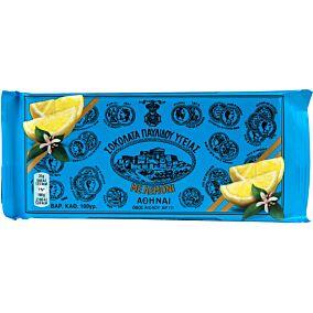 Σοκολάτα ΠΑΥΛΙΔΗΣ υγείας με λεμόνι (100g)