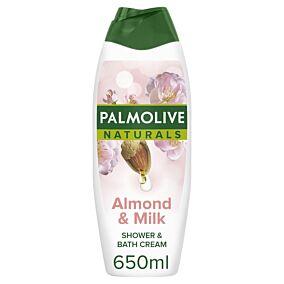 Αφρόλουτρο PALMOLIVE Naturals γάλα & αμύγδαλο (650ml)
