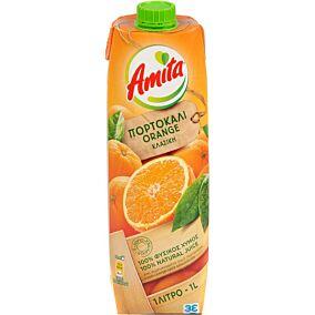Φυσικός χυμός AMITA πορτοκάλι (1lt)