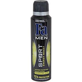 Αποσμητικό σώματος FA Power Boost For Men, σε σπρέι (150ml)