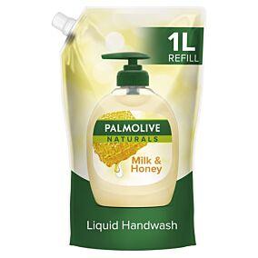 Κρεμοσάπουνο PALMOLIVE γάλα-μέλι, ανταλλακτικό (1lt)