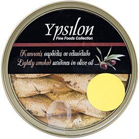 Κονσέρβα YPSILON FINE FOODS σαρδέλες καπνιστές (120g)