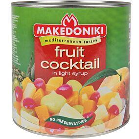 Κομπόστα ΜΑΚΕΔΟΝΙΚΗ κοκτέιλ φρούτων σε ελαφρύ σιρόπι (1,5kg)