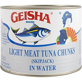 Κονσέρβα GEISHA τόνος σε νερό (1,705kg)