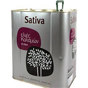Ελιές SATIVA καλαμών No.321-350 (5kg)