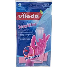 Γάντια VILEDA κουζίνας sensitive, medium (1τεμ.)