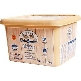 Τυρί ΑΓΝΑΝΤΙ φέτα ΠΟΠ σε μερίδες των 100g (1kg)
