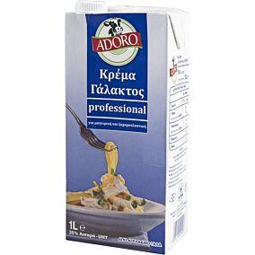 Κρέμα γάλακτος ADORO easy open 35% λιπαρά (1lt)