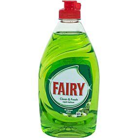 Απορρυπαντικό πιάτων FAIRY clean & fresh με άρωμα μήλο, υγρό (400ml)