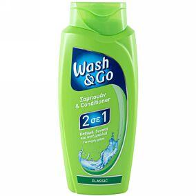Σαμπουάν WASH&GO classic 2 σε 1 (700ml)