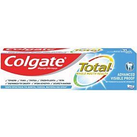 Οδοντόκρεμα COLGATE total visible action (75ml)