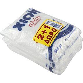 Αλάτι ψιλό ΧΙΩΝ μαγειρικό (3x500g)