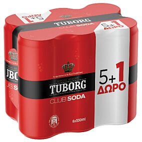 Αναψυκτικό TUBORG σόδα (6x330ml)