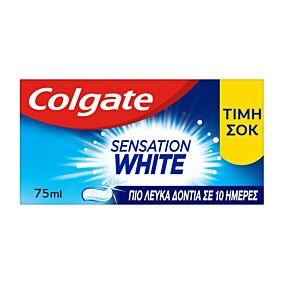 Οδοντόκρεμα COLGATE sensation white (2x75ml)