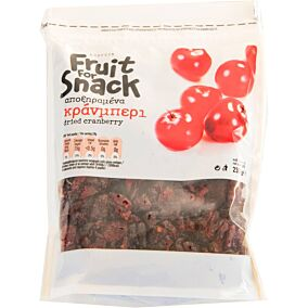 Cranberries αποξηραμένα Αμερικής (230g)