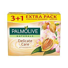 Σαπούνι PALMOLIVE almond milk 3+1 ΔΩΡΟ (4x90g)