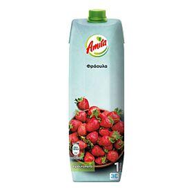 Φρουτοποτό AMITA φράουλα (1lt)