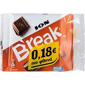 Σοκολάτα ΙΟΝ Break με αμύγδαλο (3x85g)