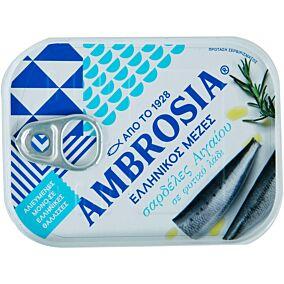 Κονσέρβα AMBROSIA σαρδέλες σε λάδι (100g)