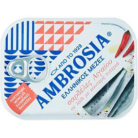 Κονσέρβα AMBROSIA σαρδέλες πικάντικες (100g)