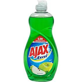 Απορρυπαντικό πιάτων AJAX excel μήλο -0,30€ (500ml)