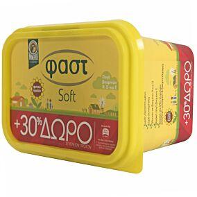 Μαργαρίνη ΜΙΝΕΡΒΑ φαστ soft +30% ΔΩΡΕΑΝ προϊόν (250g)