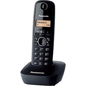Τηλέφωνο PANASONIC KX-TG1611 ασύρματο, black