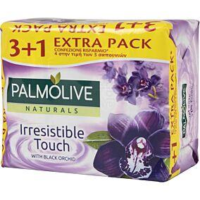 Σαπούνι PALMOLIVE Naturals Irresistible touch με μαύρη ορχιδέα 3+1 (4x90g)