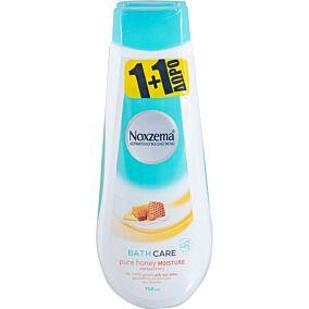 Αφρόλουτρο NOXZEMA pure honey moisture 1+1ΔΩΡΟ (2x750ml)