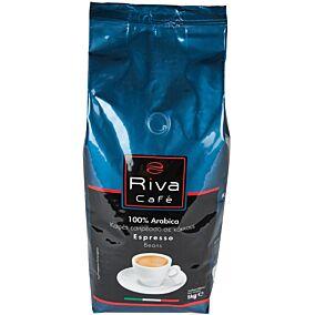 Καφές RIVA CAFÉ espresso platinum σε κόκκους (1kg)