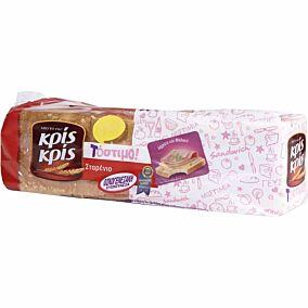 Ψωμί ΚΡΙΣ ΚΡΙΣ τοστ σταρένιο -0,45€ (800g)