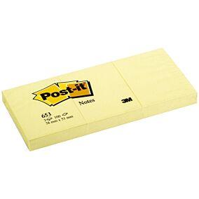Αυτοκόλλητα χαρτάκια Post-it 38x51cm (3τεμ.)
