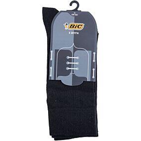 Κάλτσες BIC Atri ανδρικές μαύρες No.11 (2τεμ.)
