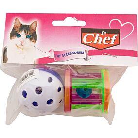 Παιχνίδι LE CHEF γάτας μπαλάκι και κύλινδρος