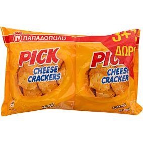Κράκερ ΠΑΠΑΔΟΠΟΥΛΟΥ mini pick cheese (4x45g)