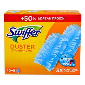 Ξεσκονόπανο SWIFFER dusters +50% (10τεμ.)