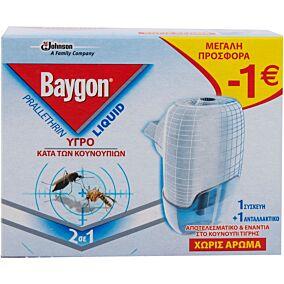 Εντομοαπωθητικό BAYGON genius protector set (27ml)