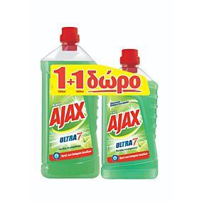 Καθαριστικό AJAX για το πάτωμα με άρωμα λεμόνι, υγρό (1,5lt)
