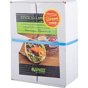 Stick λαχανικών ΠΑΡΝΑΣΣΟΣ κατεψυγμένα (2,5kg+0,5kg)
