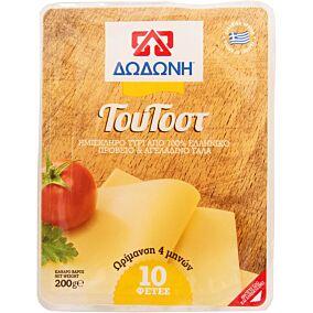 Τυρί ΔΩΔΩΝΗ ΤουΤοστ ημίσκληρο σε φέτες (200g)