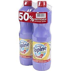 Χλωρίνη TOPINE με άρωμα λεβάντα σε gel (2x750ml)