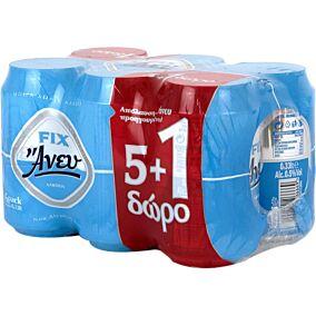 Μπύρα FIX άνευ (5+1 δώρο) (4x6x330ml)