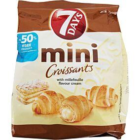 Κρουασάν 7DAYS Mini με γέμιση κρέμα μιλφέιγ (107g)