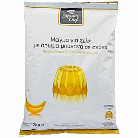 Μείγμα MASTER CHEF ζελέ μπανάνα (2kg)